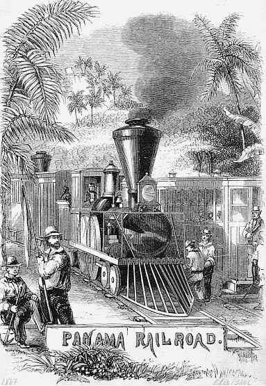 Historic Prints - 1867 Panama Railroad