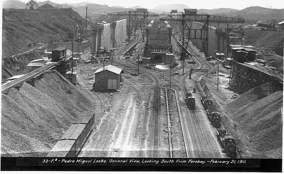 the historical construction of the panama canal