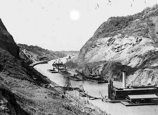 a history of the construction of the panama canal A brief history and overview of the panama canal in panama history of the panama canal from 1819, panama was part of the construction of a canal in.